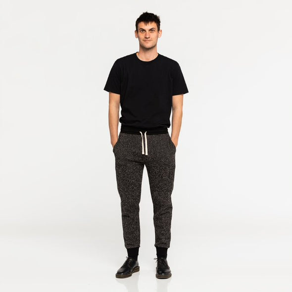 BANKS JOURNAL PRIMARY FLEECE TRACK PANT - DIRTY DENIM