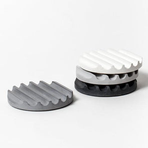 PRETTI.COOL COASTER SET- GREY SCALE