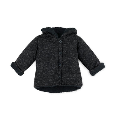 BABYCLIC QUILTED JACKET- BLACK SOHO