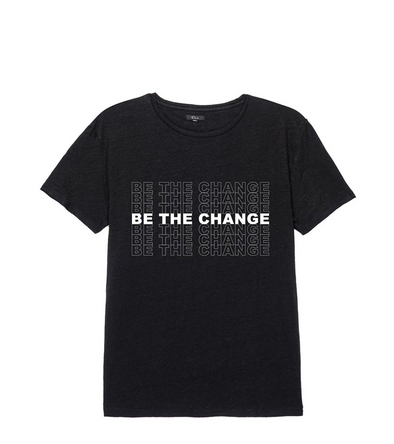 RAILS MEN'S BE THE CHANGE T-SHIRT- BLACK