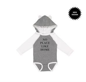 LOVE BUBBY NO PLACE LIKE HOME BODYSUIT