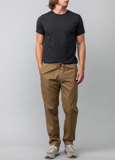 SAVE KHAKI UNITED MEN'S EASY TWILL CHINO - FIELD