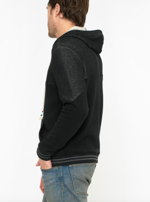 SOL ANGELES MEN'S ROMA HOODIE - BLACK