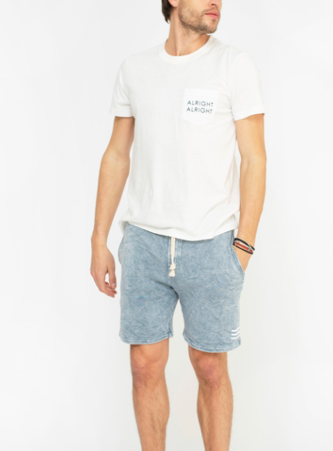 SOL ANGELES MEN'S BAJA SHORT - CLOUD