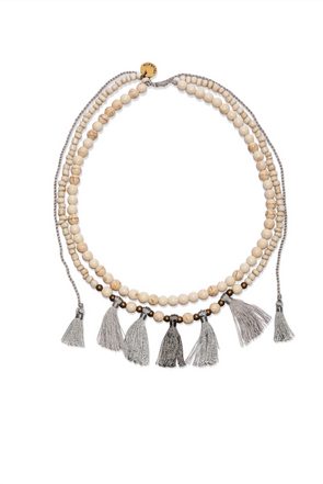 COCOBELLE SOL NECKLACE - GRAY