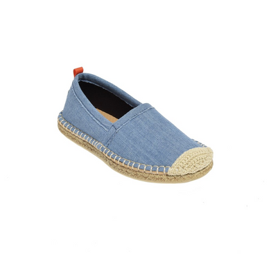 SEA STAR KIDS BEACHCOMBER ESPADRILLE - LIGHT DENIM