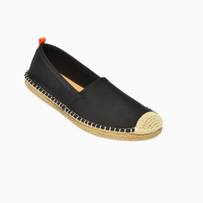 SEA STAR WOMENS BEACHCOMBER ESPADRILLE - BLACK
