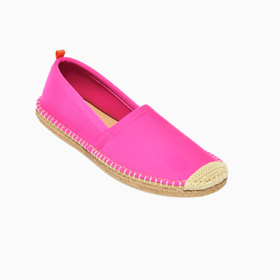 SEA STAR WOMENS BEACHCOMBER ESPADRILLE - HOT PINK
