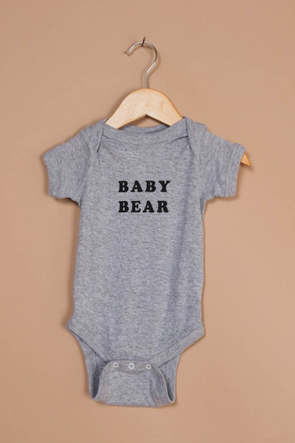 THE BEE & THE FOX ONESIE- BABY BEAR