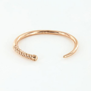 SAILORMADE SLIM FID CUFF- POLISHED ROSE GOLD