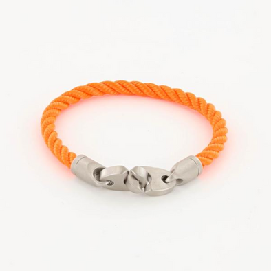 SAILORMADE CATCH SINGLE ROPE BRACELET- BUOY ORANGE
