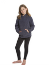 BAREFOOT DREAMS THE COZYCHIC® YOUTH PULLOVER HOODIE- PACIFIC BLUE
