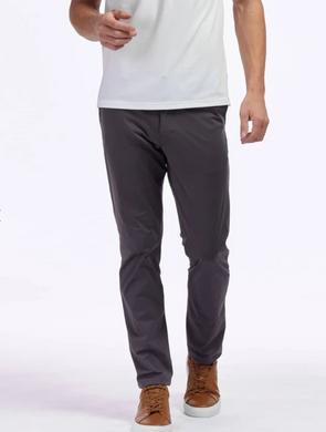 RHONE COMMUTER SLIM PANT 33''- IRON
