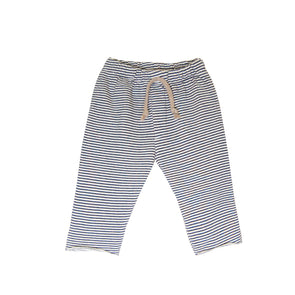 GO GENTLY BOY'S SIMPLE SWEATS- NAVY STRIPE