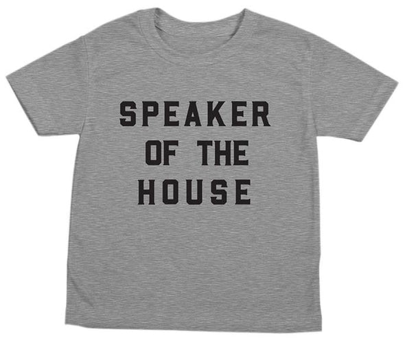 LOVE BUBBY SPEAKER OF THE HOUSE T-SHIRT