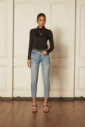 BOYISH DENIM THE BILLY HIGH-RISE SKINNY - RIO BRAVO