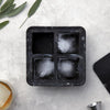 W&P MARBLE EXTRA LARGE ICE CUBE TRAY-MARBLE BLACK