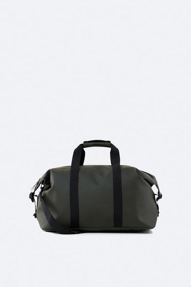 RAINS UNISEX WEEKEND BAG - GREEN