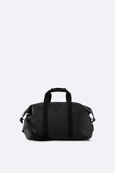 RAINS UNISEX WEEKEND BAG - BLACK