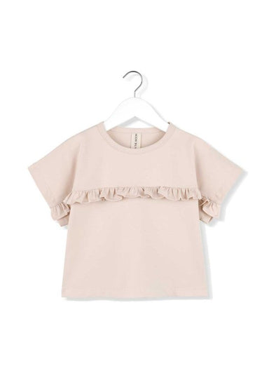 KIDS ON THE MOON FRILL BLOUSE - AFTERGLOW