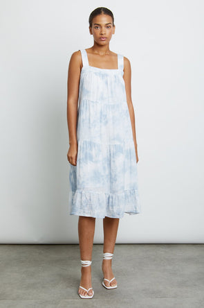 RAILS WOMENS AMAYA DRESS - CASCADE TIE DYE