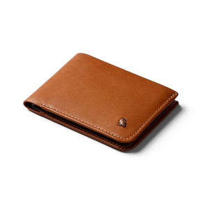 BELLROY LEATHER/ FRID HIDE & SEEK WALLET- CARAMEL