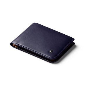 BELLROY LEATHER/ FRID HIDE & SEEK WALLET- NAVY