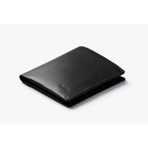 BELLROY LEATHER/ FRID NOTE SLEEVE WALLET- BLACK