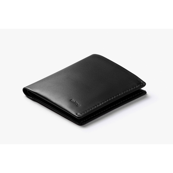 BELLROY LEATHER/ RFID NOTE SLEEVE WALLET- BLACK