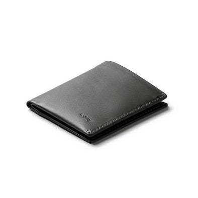 BELLROY LEATHER/ FRID NOTE SLEEVE WALLET- CHARCOAL