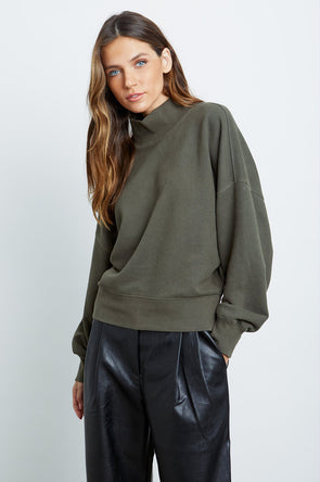 RAILS WOMEN'S BLAIRE SWEATER - OLIVE
