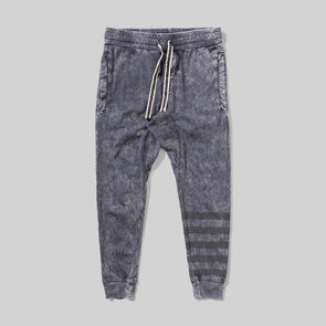 MUNSTERKIDS CRYSTAL WASHED MIDNIGHT JERSEY PANT