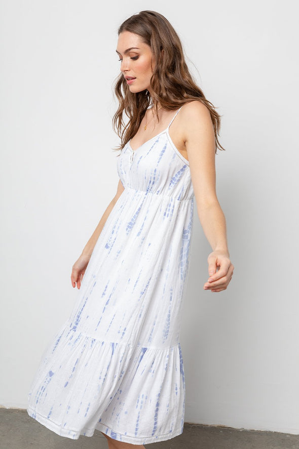 RAILS DELILAH DRESS- CLOUD TIE DYE