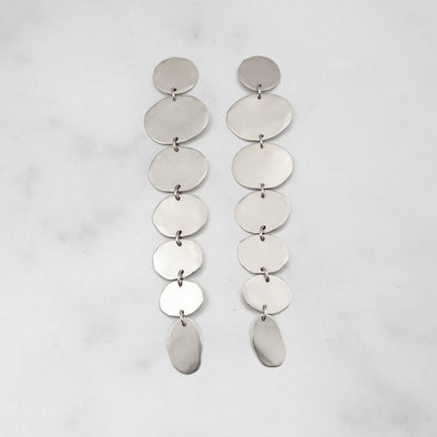 CAROLYN KEYS JEWELRY CLOUD LINA EARRING- STERLING SILVER