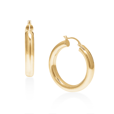 PHYLLIS & ROSIE TRIPLE HOT HOOPS SMALL- 14K GOLD FILLED