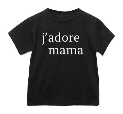 LOVE BUBBY J'ADORE MAMA T-SHIRT