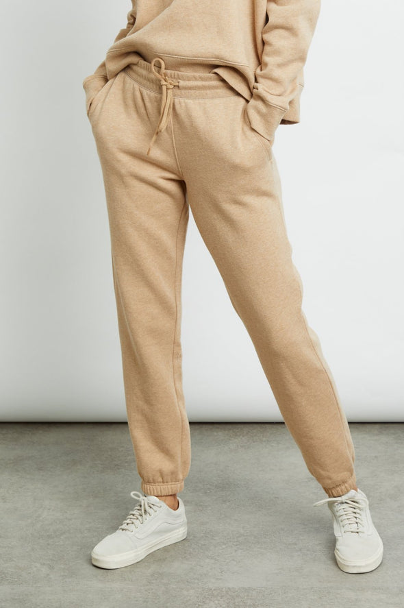 RAILS WOMEN'S KINGSTON SWEATPANTS - HEATHER CAMEL