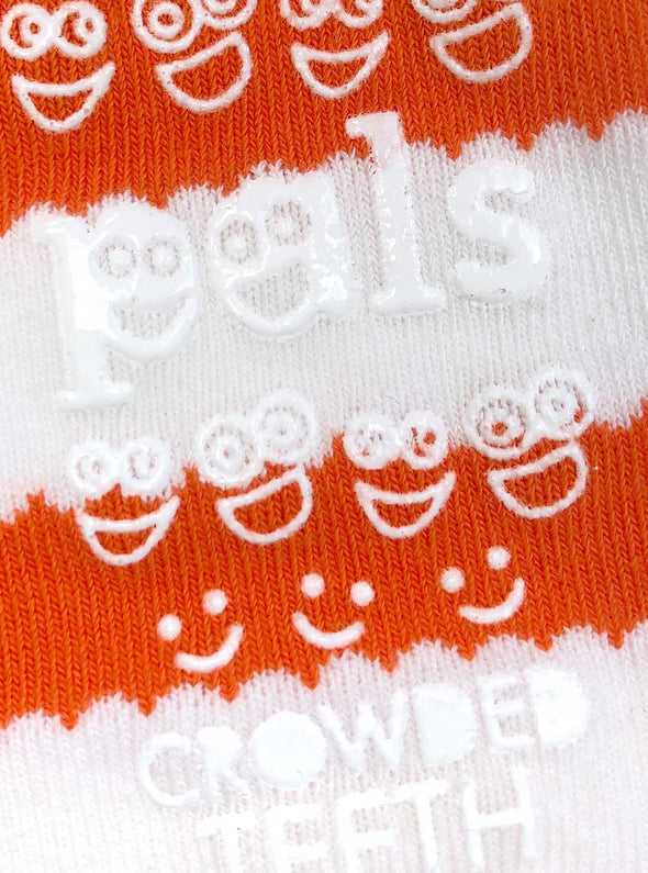 PALS SOCKS KIDS COLLECTIBLE MISMATCHED SOCKS- BURGER & FRIES