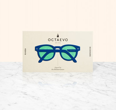 OCTAEVO BARCELONA BOOKMARK- RIVIERA | BLUE