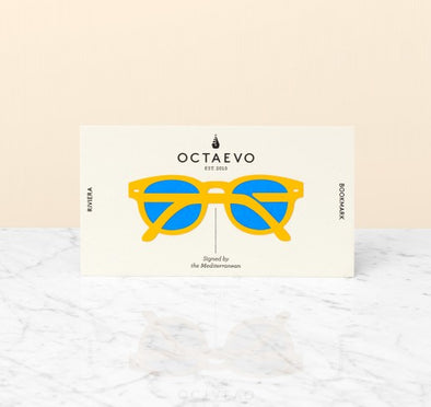 OCTAEVO BARCELONA BOOKMARK- RIVIERA | YELLOW