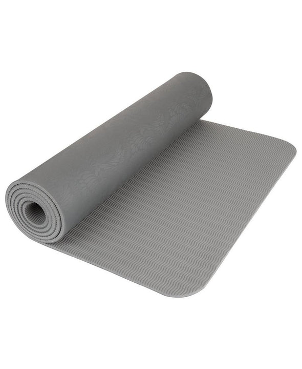 SWEATY BETTY ECO YOGA MAT - CHARCOAL