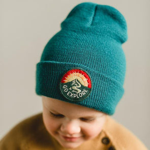 SEASLOPE INFANT/TODDLER/KID GO EXPLORE BEANIE - GLACIER