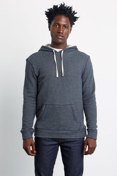 RAILS MEN'S SMITH SWEATSHIRT - BLACK CHARCOAL