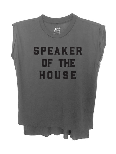 LOVE BUBBY WOMENS SPEAKER OF THE HOUSE T-SHIRT