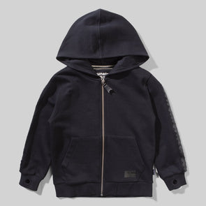 MUNSTERKIDS THRASH ZIP HOODY- SOFT BLACK