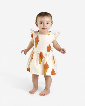 NADADELAZOS BABY DRESS - STRAWBERRY ICE CREAM