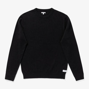BANKS JOURNAL MEN'S BERLIN KNIT PULLOVER - DIRTY BLACK