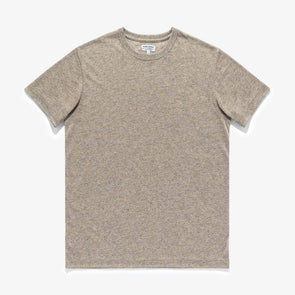 BANKS JOURNAL MEN'S SAINT DELUXE TEE SHIRT - HEATHER CHAR
