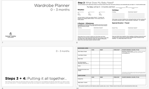 Preview of Planning Pages