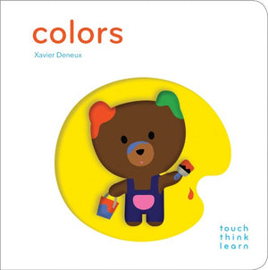 Think Touch Learn Colors Book